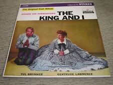 THE KING AND I (EX) 1951 Original Cast Yul Brynner (NM) 1959 Decca LP DL79008