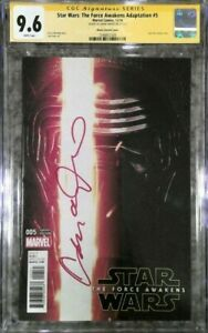 Star Wars: Force Awakens #5 photo cvr variant__CGC 9.6 SS__Signed by Adam Driver