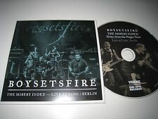 BOYSETSFIRE The Misery Index - Live At Lido / Berlin 9. October 2014