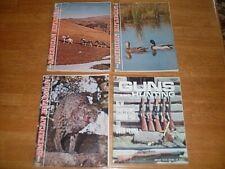 VINTAGE 1960's Hunting Magazine Lot (4) American Rifleman & Guns and Hunting