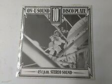 """An On-U Journey Through Time & Space 10"""" Vinyl On-U-Sound Discoplate New Sealed"""