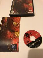 😍 Pal Fr Complet Nintendo Gamecube Avec Notice Spider Man 2 game cube