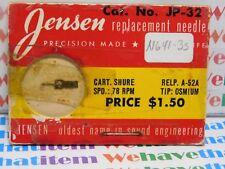 JENSEN / JP-32 / REPLACES SHURE A-52A / 1 PIECE (qzty)