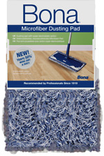 1 x Bona Microfibre Dusting Cleaning Mop Pad Refill Clean Wood Stone Tile Floors