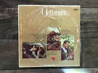 "Collector's Vintage Music of ""A Letterman - Kind of Love"" LP Capital Records CD"