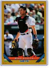 Mike Piazza 2019 Topps Archives 5x7 Gold #272 /10 Mets