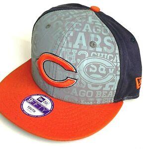 New Era 9Fifty MLB Chicago Bears Football NFL Snapback Hat YOUTH Size