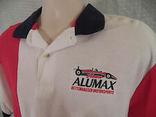 TEAM ALUMAX Bettenhausen Motorsports Polo Shirt LARGE Indy Racing US 500 Vintage
