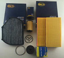 Filter Set Oil Air Activated Carbon Fuel W202 S202 200 220 CDI