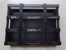 Jack Daniel's Wooden Box Had Liquor Filled Chocolates Recycle For Shot Glasses