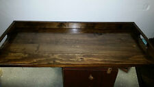 Primitive Kitchen Sink Cover  Board stained or colors