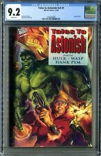 Tales to Astonish V3 #1 (Marvel 12/94) CGC 9.2 White! Hulk + Wasp!