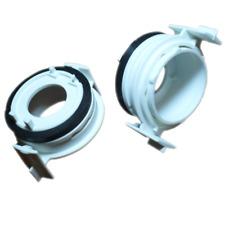 For BMW E46 H7 Xenon Hid & LED Headlight Bulb Holders Adaptors 3 Series Lighting