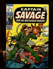 CAPTAIN SAVAGE & HIS BATTLEFIELD RAIDERS #9 (9.2) THE GUN RUNNER! 1968~