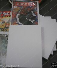 100 x SIZE H.  COMIC BACKING BOARDS FOR NEWER SIZE 2000AD