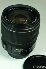 CANON ZOOM LENS EF-S MOUNT 15-85mm IS USM f/3.5-5.6 w/ HOOD Awesome Condition