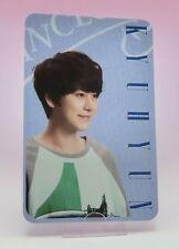 SUPER JUNIOR E.L.F JAPAN Fan Club Limited Photo card KyuHyun