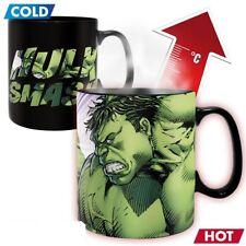 Marvel Comics - Thermoeffekt Tasse 460 ml - Hulk Smash - Dont Make Me Angry
