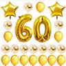 Happy Rose Confetti Pc Gold Birthday Foil Set 24 Ballon Decoration Balloon Party