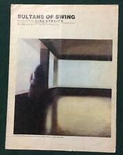 Sultrans Of Swing Recorded By Dire Straits 1978 Music Sheet Song