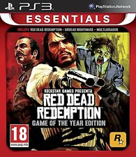 Red Dead Redemption Game Of The Year Edition GOTY PS3 ESPAÑOL NUEVO CASTELLANO