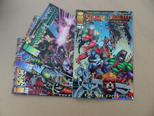 Spawn / WilldC.A.T.S  1 - 4 . Alan Moore . Image 1996 . VF