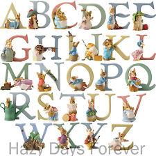 PETER RABBIT Alphabet Letters BUY 2+ SAVE 10% Beatrix Potter Border Fine Arts