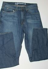 Guess Cliff Relaxed Fit Boot Cut Mens Blue Jeans 36 X 32