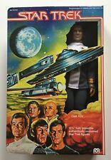 "STAR TREK Vintage Captain Kirk 12"" Action Figure Mego 1979 Unused contents"