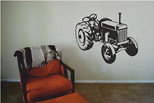 Vintage Tractor wall art decal, Rally Show John Deere, Allis Chalmers Style