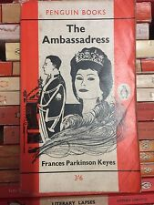 Penguin Book 1537 The Ambassadress - Frances Parkinson Keyes 1961 Exotic Glamour