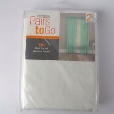 window Pairs to go Two Rod Pocket Window Panels Victoria Voile HG0329