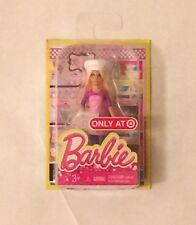 "NIB Mattel Barbie ""I can be"" Chef Doll Figure 4"""