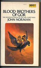 Blood Brothers of Gor No. 18 by John Norman (1982, Paperback)