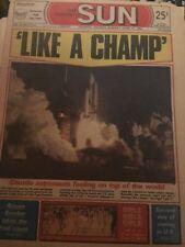 The Toronto Sun April 13 1981 Shuttle Lift Off