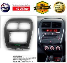 Fascia facia Peugeot 4008 2012+ Double 2 Din Dash Stereo DVD GPS Radio
