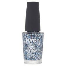 NYC Long Wearing Nail Polish Glitter Top Coat 003 Disco Inferno