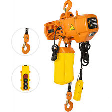 1T/2200lbs Electric Chain Hoist High Speed G80 Chain Pure Copper Motor