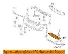TOYOTA OEM 06-09 Prius Front Bumper-Under Cover 5144747010