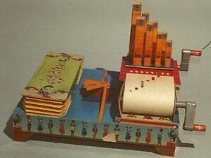 Paper Organ (Bausatz Karton) Drehorgel, Pfeifenorgel, Orgue, Orgel, Organist