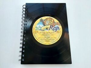 Rod Stewart, Greatest Hits, Vinyl Record A5 Notebook gift