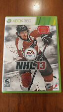 NHL 13 (Microsoft Xbox 360, 2012) NEAR MINT! MAIL IT TOMORROW! HOCKEY