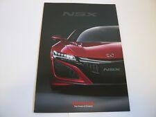 Honda Nsx Brochure Japan free shipping
