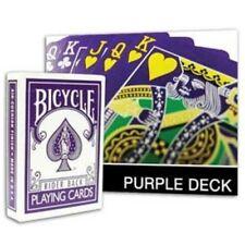 BICICLETTA invertita VIOLA Deck carte da gioco