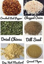 10 spice samples, 1-2 tbsp of each - See photo gallery for list of spices