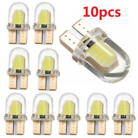 10PCS T10 194 W5W COB Silicone Shell LED Lights Car Width Light Door light IU