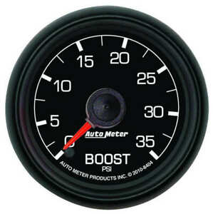 "AUT8404 Autometer 8404 Ford Factory Match Boost Gauge, 2-1/16"", 35 PSI,"
