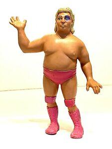 "WWF Adorable Adrian Adonis * LJN Wrestler 1987 Rubber Wrestling 8"" Figure Titan"
