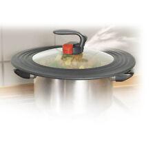 Automatic Pan Pot Saucepan Lid Airtight Steam Valve Silicon Sealing Ring