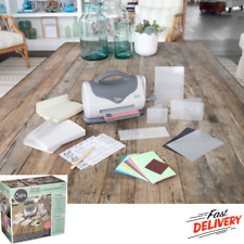 Embossing Starter Kit Sizzix Texture Boutique Machine Compatibility With Mac